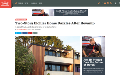 Curbed featured our San Francisco Eichler Remodel
