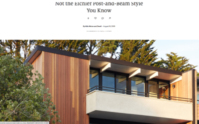 Dwell featured our San Francisco Eichler Remodel