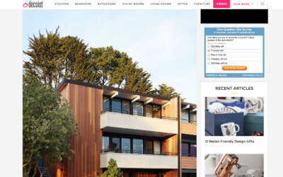 Decoist featured our San Francisco Eichler Remodel