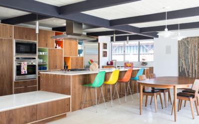 Interior Design Magazine featured our Renewed Classic Eichler