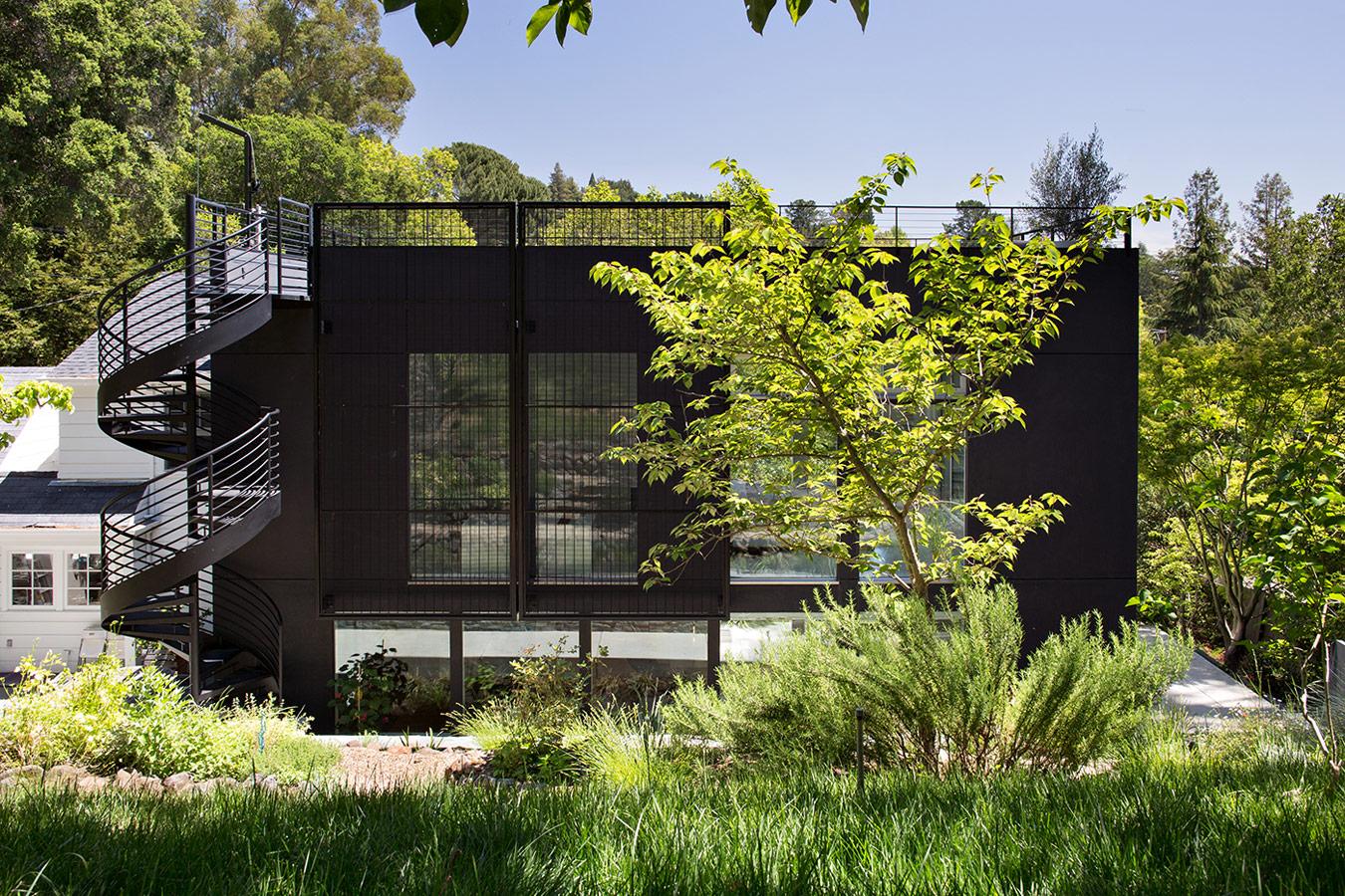 Minimal Modern Addition Klopf Architecture - Home addition designer