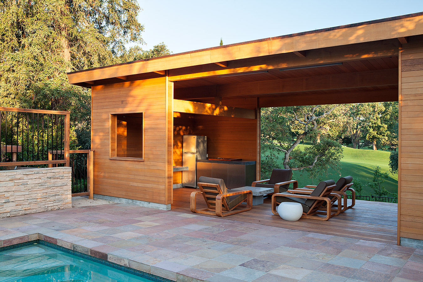 Modern Pool House modern pool house | klopf architecture