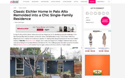 Decoist featured our Palo Alto Eichler Remodel