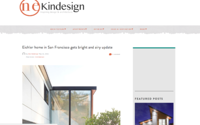 One Kind Design featured our San Francisco Eichler Remodel
