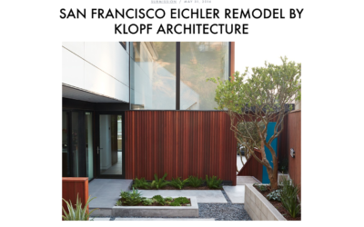 Moco Loco featured our San Francisco Eichler Remodel