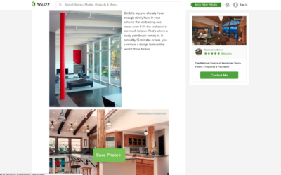 Houzz featured our San Francisco Mid Century Modern Romodel