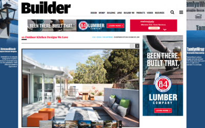 Builder featured our Truly Open Eichler Remodel
