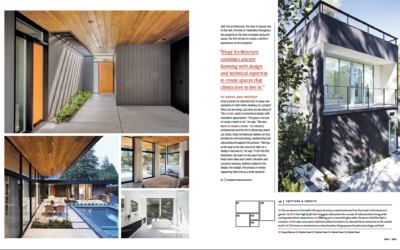 Luxe Magazine features Klopf Architecture