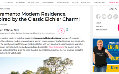 Decosit features our Sacramento Modern New Residence