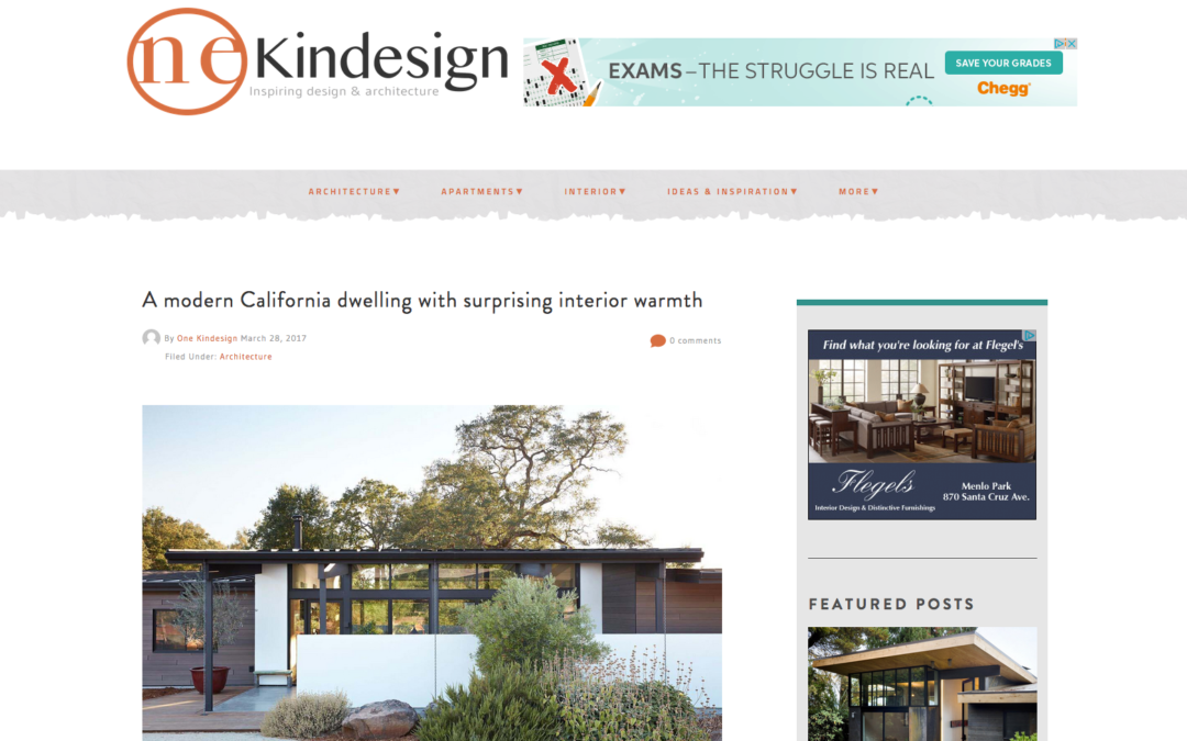 One Kind Design features our Sacramento Modern New Residence