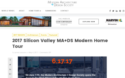 Klopf Architecture is a participate in the 2017 Silicon Valley MA+DS Modern Home Tour
