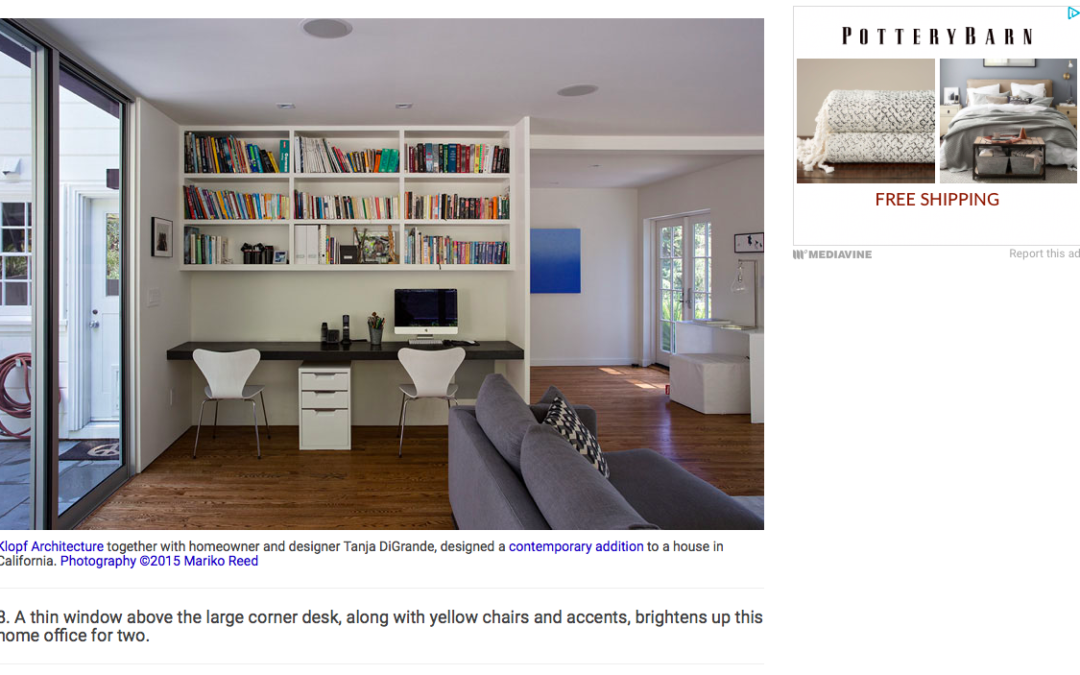 Contemporist features our Minimal Modern Addition