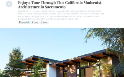 Nonagon Style features our Sacramento New Residence