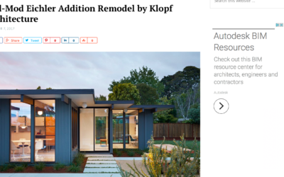 Home World Design features our Mid-Mod Eichler Addition Remodel