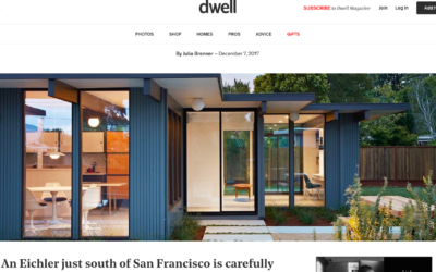 Dwell features our Mid-Mod Eichler Addition Remodel