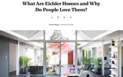 Dwell features a story about our Eichler Remodels