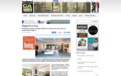 CA Modern features our Truly Open Eichler Remodel