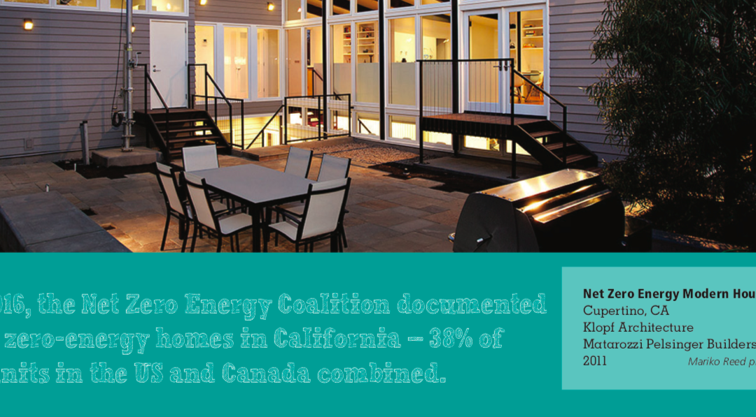 Our project, Net Zero Energy House, was featured in The American Institute of Architects, California Council publication the Net Zero Energy Primer.
