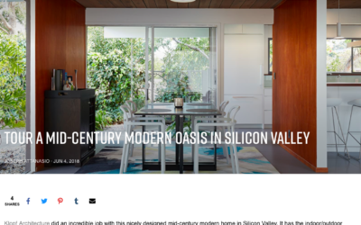 Airows features our Burlingame Eichler Remodel
