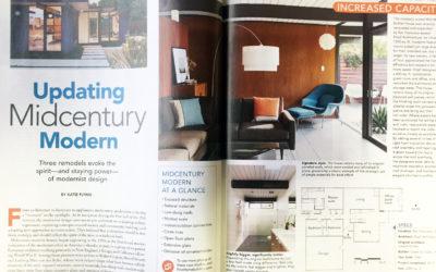 Fine Homebuilding Magazine published our Mid Mod Eichler Remodel Addition