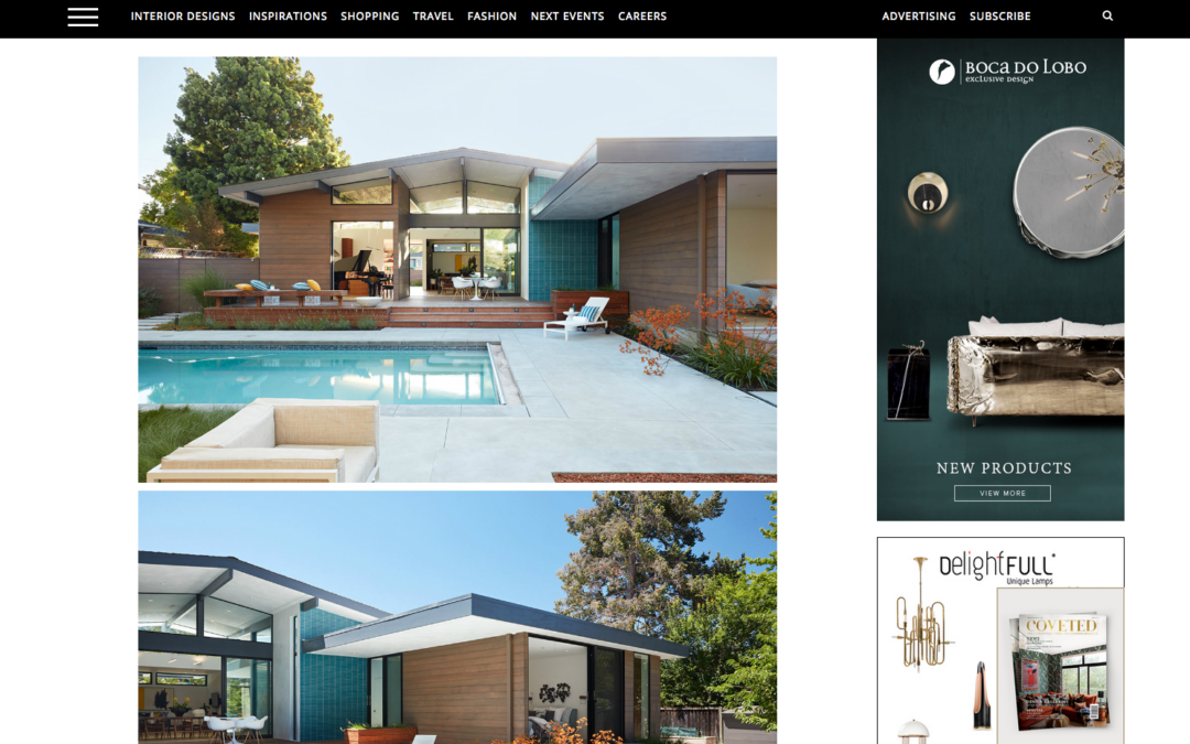 Coveted Edition features our Los Altos New Residence