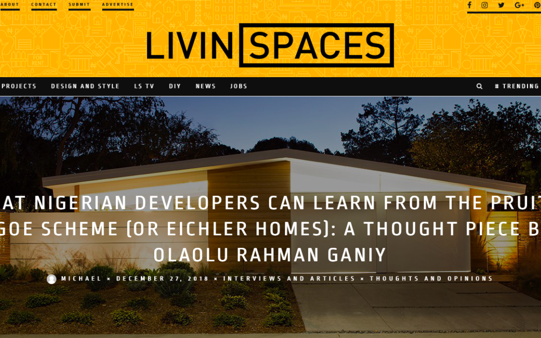 Livin Spaces features our Truly Open Eichler Remodel