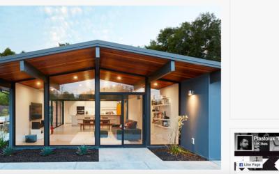 Plastolux features our Palo Alto Eichler Remodel