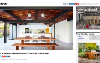 Dezeen features our Palo Alto Eichler Remodel