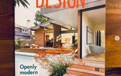 Home+Garden Design Magazine features our Los Altos New Residence